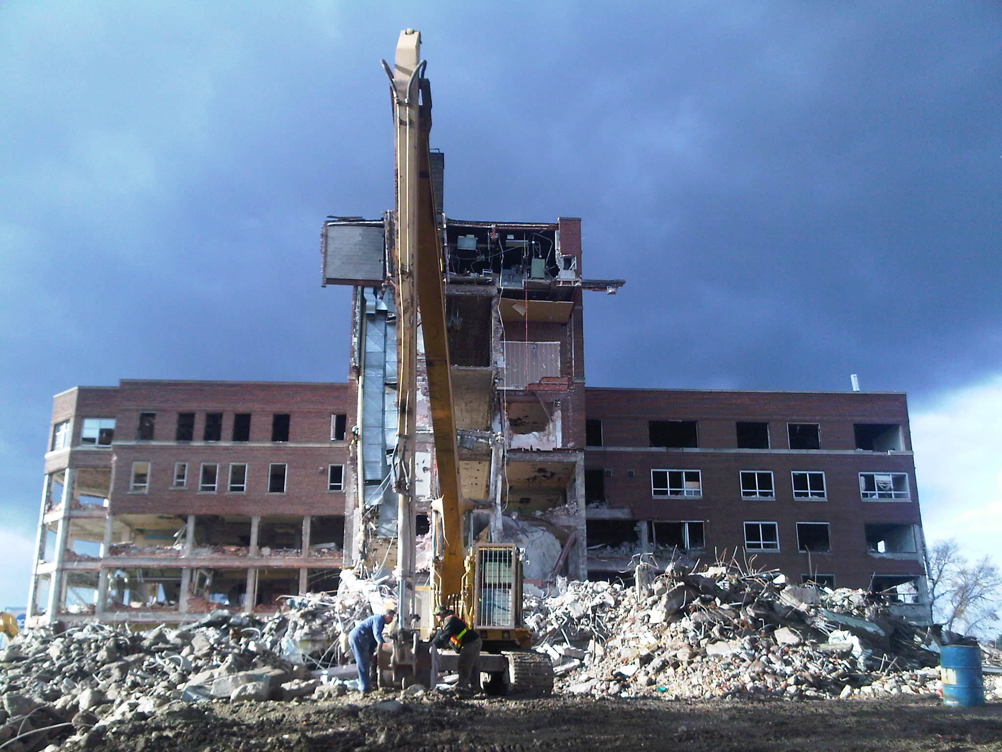 Port Arthur General Hospital Demolition
